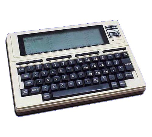 Tandy Model 100 computer